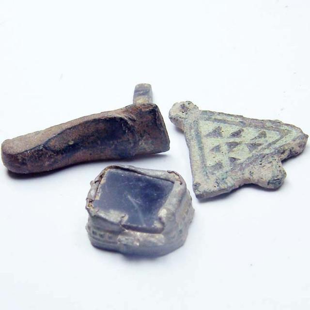 Parcel Ancient Roman Artifact Desert Patina Opac1732