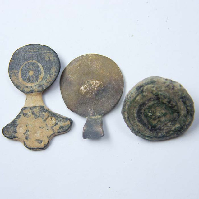 PARCEL  ANCIENT ROMAN  ARTIFACTS DESERT PATINA OPAC1736