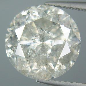 NATURAL WHITE DIAMOND-O.10CTWSIZE--3MMSIZE-1PCS,NR