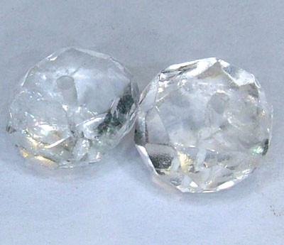 AQUAMARINE FACETED BEADS (4PC) 10.30CTS NP-1493