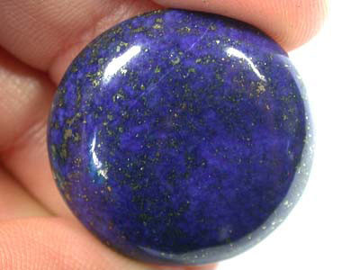 LARGE A GRADE LAPIS FROM AFGHANISTAN  38.20 CTS  GW 543
