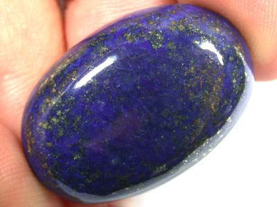 LARGE A GRADE LAPIS FROM AFGHANISTAN 37.40  CTS  GW 546