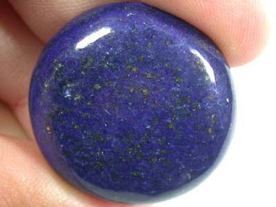 LARGE A GRADE LAPIS FROM AFGHANISTAN  40.80  CTS  GW 557