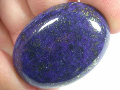 LARGE A GRADE LAPIS FROM AFGHANISTAN   59 CTS  GW 561