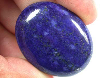 LARGE A GRADE LAPIS FROM AFGHANISTAN  53.5 CTS  GW 563