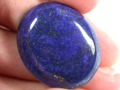 LARGE A GRADE LAPIS FROM AFGHANISTAN   42.20 CTS  GW 566