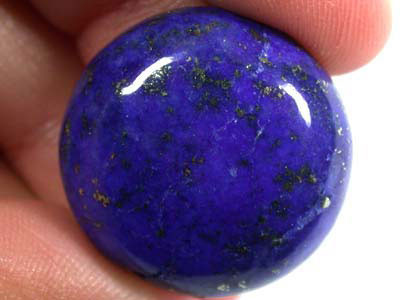 LARGE A GRADE LAPIS FROM AFGHANISTAN   41.6 CTS  GW 567