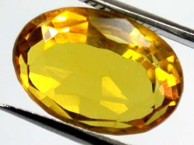 GOLDEN TOPAZ SUN GOLD COLOUR CLEAN    7.7CTS  GW 617