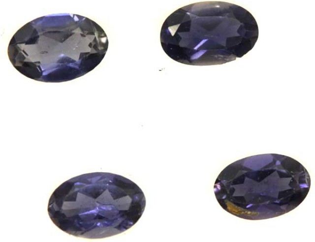 IOLITE FACETED STONE (2 PAIR) 1.35 CTS  PG-1328