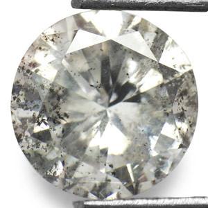 NATURAL-HUGESIZE-WHITE DIAMOND-APP-6CTW-1PCS