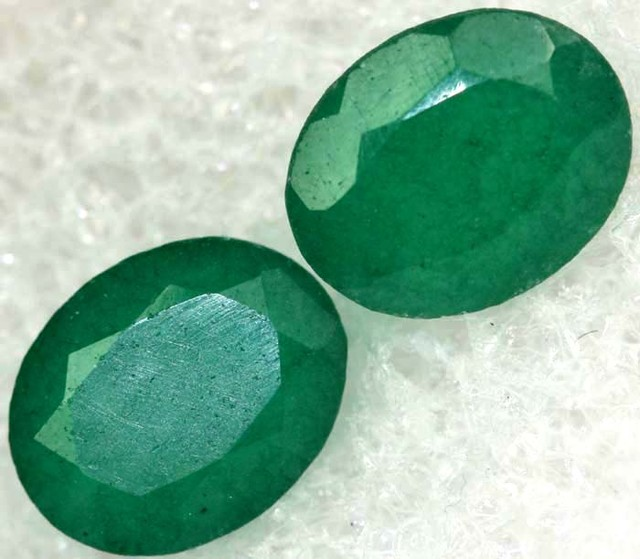 'EMERALD GREEN'  ADVENTURINE QUARTZ 6.35 CTS  [TS6104]