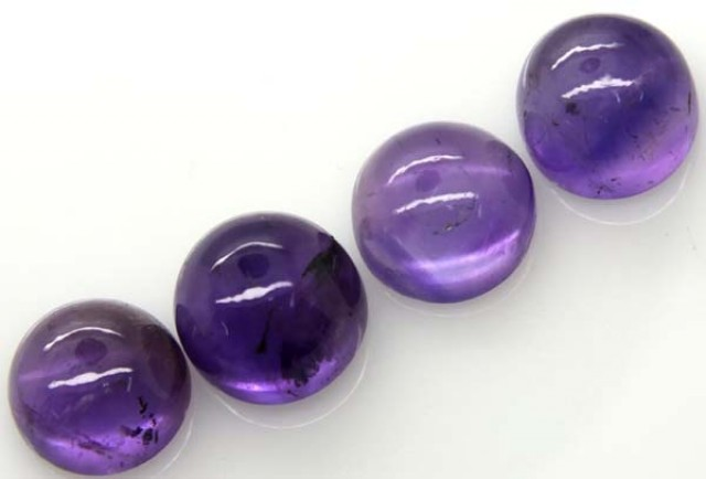AMETHYST CABS (4 PC) 23.4 CTS CG-1309