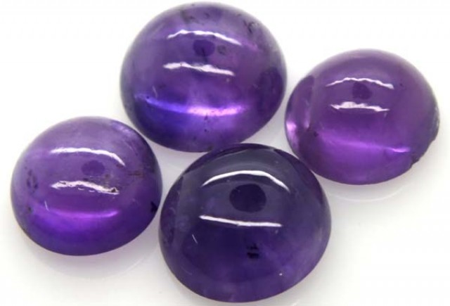 AMETHYST CABS (4 PC) 17.1 CTS CG-1286