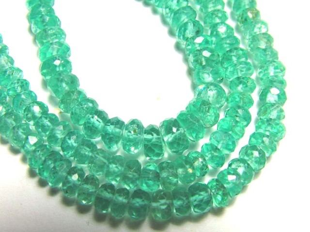 APATITE AAA QUALITY BEADS DRILLED 70  CTS AS-A1095
