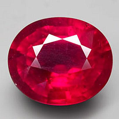 4.76 Carat VS Ruby - Superb