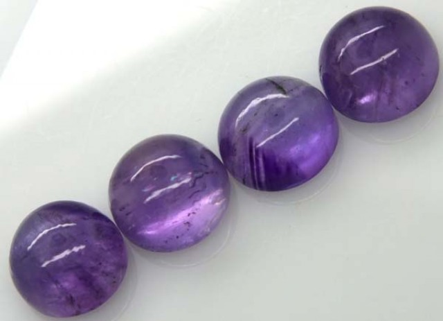 AMETHYST CABS (4 PC) 22.6 CTS CG-1307