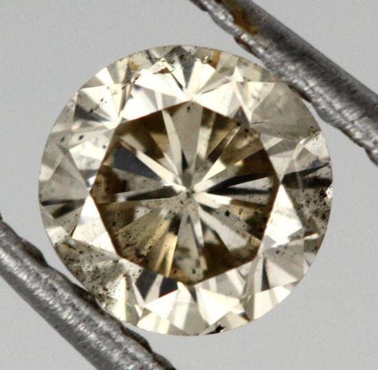 0.380 CTS AUSTRALIAN WHITE DIAMOND [DC282]