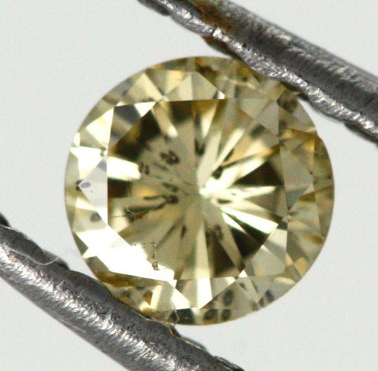 0.175 CTS AUSTRALIAN YELLOW DIAMOND  [DC294]