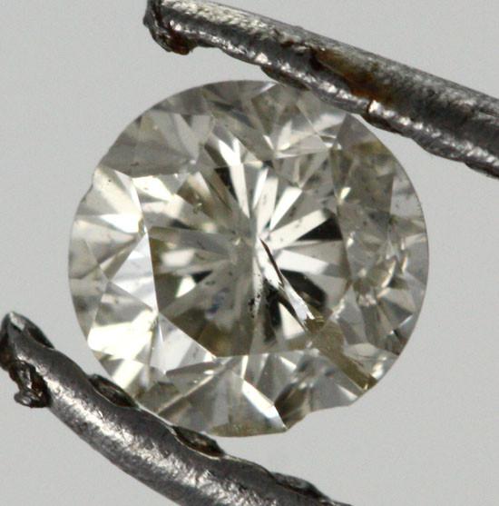 0.215 CTS AUSTRALIAN WHITE DIAMOND [DC296]