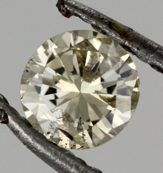 0.190 CTS AUSTRALIAN LIGHT YELLOW DIAMOND [DC299]