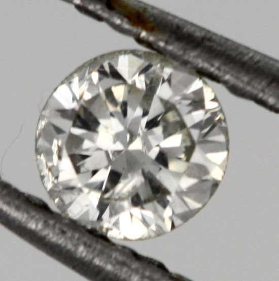 0.120 CTS AUSTRALIAN WHITE DIAMOND [DC313]
