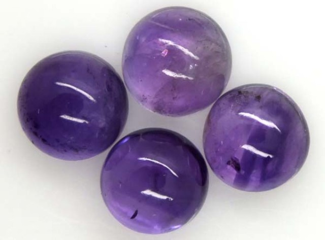 AMETHYST CABS (4 PC) 8 CTS CG-1305