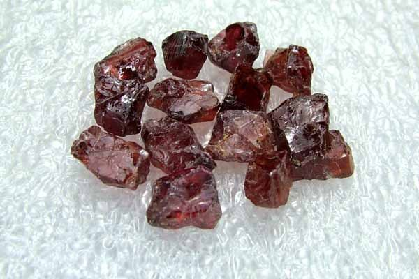 41.95cts Natural Garnet Gemstone Rough Parcel R45