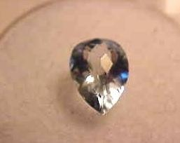 AQUAMARINE 2.28 CARAT WEIGHT PEAR CUT GEM NATURAL BLUE NR