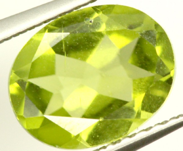 PERIDOT FACETED STONE 1.85 CTS PG-954