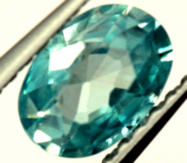 BLUE ZIRCON FACETED STONE 0.80 CTS  PG-1227