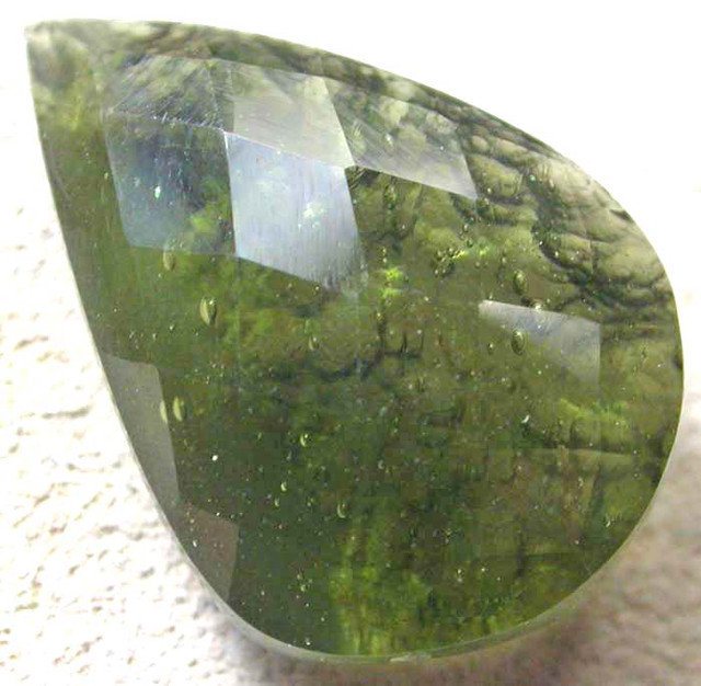 MOLDIVATE FACETED-NATURAL 5.90 CTS [S5404]