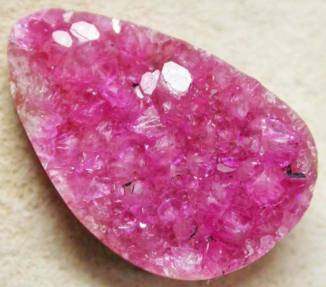 NATURAL PINK COBALT CALCITE-PRE SHAPED 7.90 CTS [MX8229]