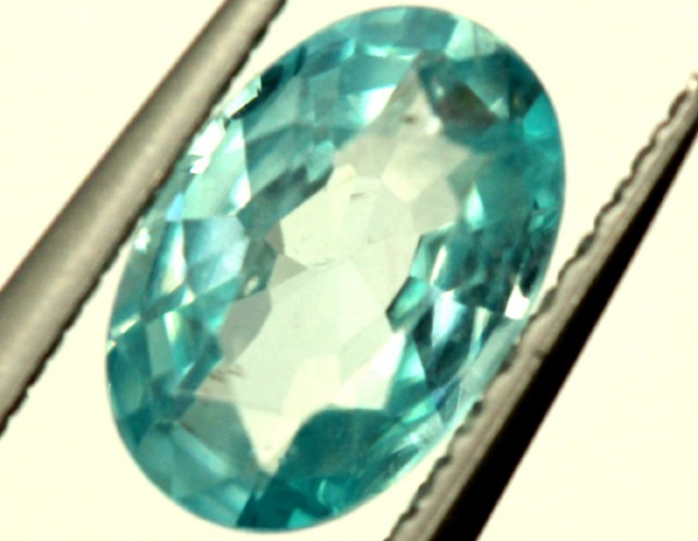 BLUE ZIRCON FACETED STONE 0.90 CTS  PG-1127