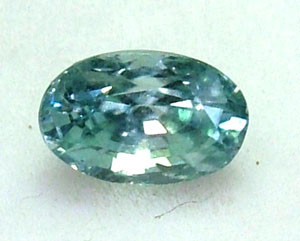 BLUE ZIRCON FACETED STONE 1.05 CTS PG-1126