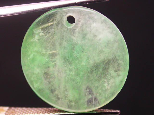 JADE STONE DRILLED -BURMA 8.75 CTS [ST6766]