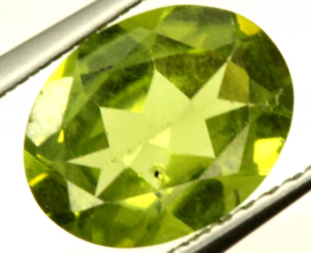 PERIDOT FACETED STONE 1.65 CTS PG-919