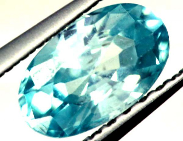 BLUE ZIRCON FACETED STONE 1.10 CTS  PG-1075