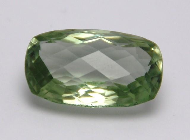 Prasiolite Prasiolite cushion cut gemstone 18.23ct