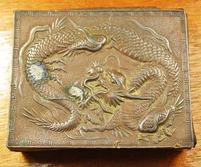 OLD DRAGON BOX   432 CTS GT 2111