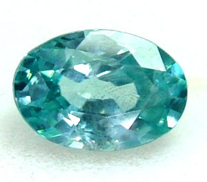 BLUE ZIRCON FACETED STONE 1.10 CTS  PG-1213