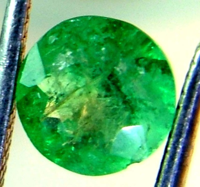 EMERALD FACETED BRAZIL  .53 CTS  AS-A3204