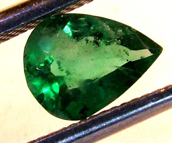 EMERALD FACETED BRAZIL .54  CTS  AS-A3206