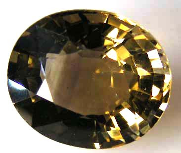 FACETED SMOKEY QUARTZ 5.64 CTS 90506
