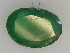 BEAUTIFUL  OVAL FACETED EMERALD 1.87  CTS  90172