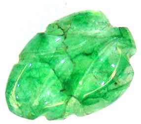 CARVED EMERALD  3.48 CTS  90220