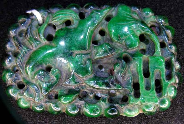 JADE CARVING 135.00 CTS   90518