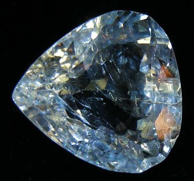FACETED TOPAZ GEMSTONE 14.76  CTS 90346