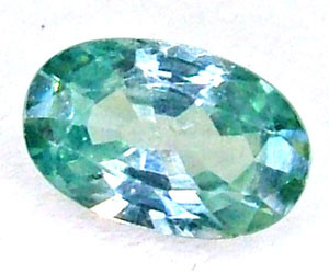 BLUE ZIRCON FACETED STONE 1.10 CTS  PG-1089