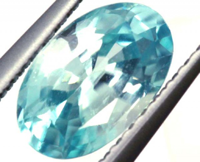 BLUE ZIRCON FACETED STONE 1.60 CTS  PG-1085