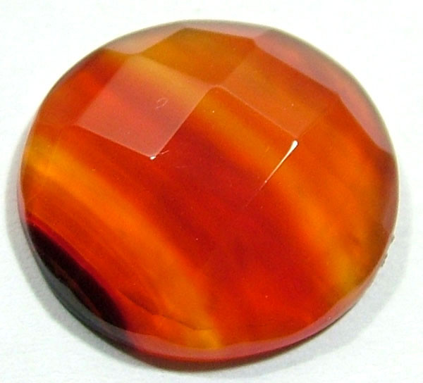 NATURAL AGATE FACETED STONE 16.85 CTS PG-762